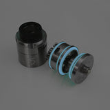 "iJoy 5 RDTA - Force Glow ""BLUE"" O'Ring Seal Gaskets (2x Set)  GLOW IN THE DARK by Inked ATTY"