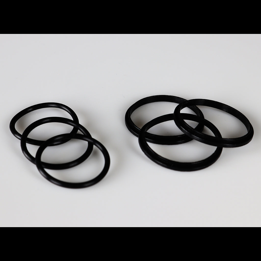 "UFORCE T2 ""BLACK"" Original Size Color Orings Seals Gaskets ( 3x Pair )"