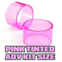 Pink Tinted Quartz - Replacement Glass - ADV Expansion Kit Size (17)