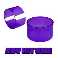 Purple Tinted Quartz - Replacement Glass - ADV Expansion Kit Size (19)
