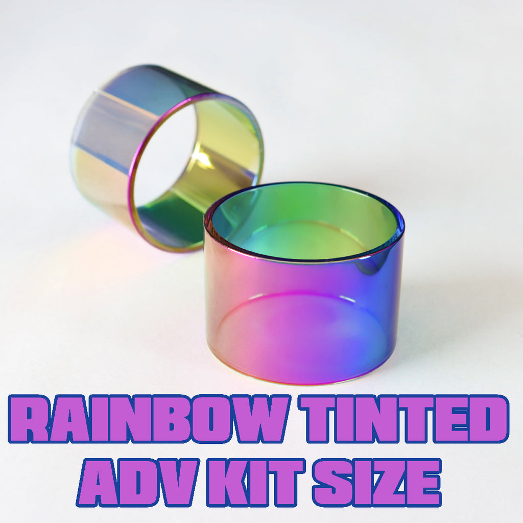 Rainbow Tinted Quartz - Replacement Glass - ADV Expansion Kit Size (18)