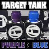 TARGET TANK - Extended 5ML - ORIGINAL - Purple to Blue - Color Change Glass Inked ATTY Pyrex