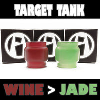 TARGET TANK WINE TO JADE EXTENDED PYREX GLASS INKED ATTY FAT BOY FAT BABY FISH BOWL