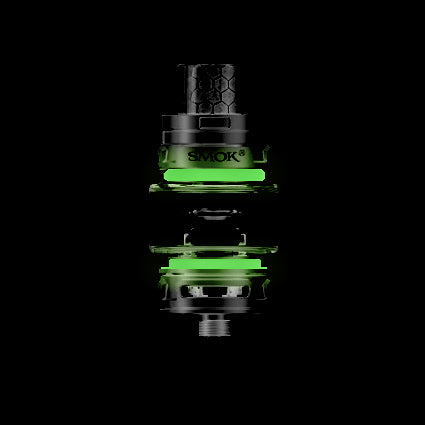 "BIG BABY PRINCE - TFV12 ""GREEN"" - FORCE GLOW - Color Orings Seals Gaskets ( 3x Pair )"