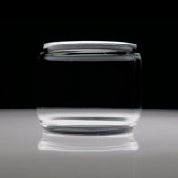Scion 2 - Clear Extended Bubble Glass Replacement Pyrex - 6.5ML