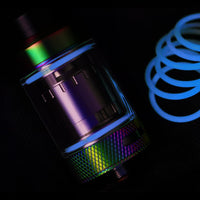 BLUE Force Glow Color ORINGS SEALS GASKETS for The Tanker by Rig Mod VapeAmp