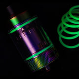 GREEN Force Glow Color ORINGS SEALS GASKETS for The Tanker by Rig Mod VapeAmp