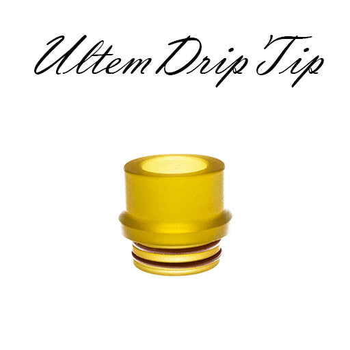 ( 810 Size  ) Ultem PEI Drip Tip - Extra Wide 14mm TFV8 BIG BABY, CLOUD BEAST, TFV12 KING BEAST, INKED ATTY