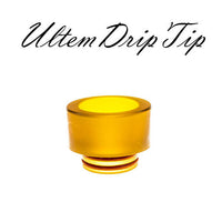Ultem PEI Drip Tip - Extra Wide 19mm TFV8 BIG BABY, CLOUD BEAST, KING BEAST, Blazer 200, INKED ATTY