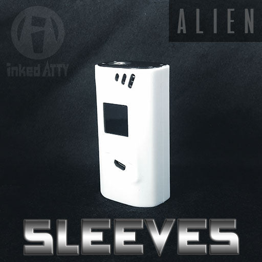 Sleeves - WHITE - Alien Mod  Color Silicone Case