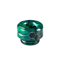 Green Viper Resin Drip Tip - Mouth Piece - ( 810 Size  )