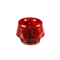 Red Viper Resin Drip Tip - Mouth Piece - ( 810 Size  )