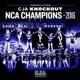 CJA Knockout: NCA Champions 2016, Square Poster