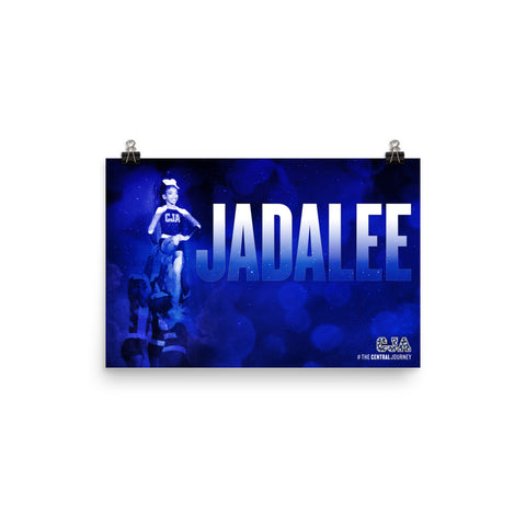 Personalized Poster - Jadalee