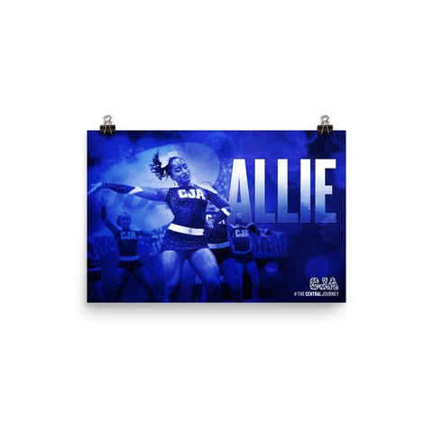 Personalized Poster - Allie L