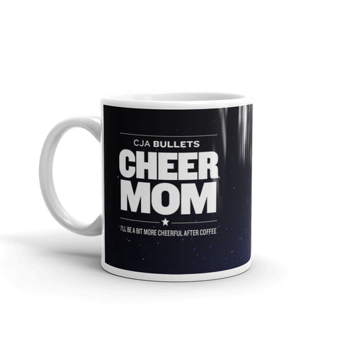 2017 Bullets Mug - Cheer Mom