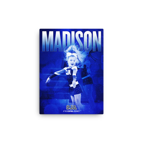 Personalized Canvas 12x16 - Madison 01