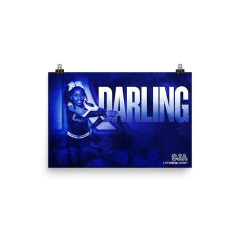 Personalized Poster — Darling