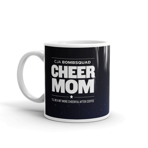 2017 BombSquad Mug - Cheer Mom