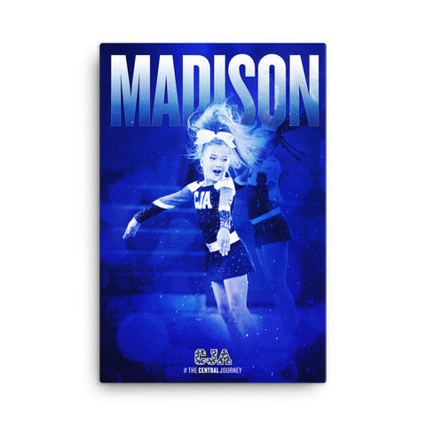 Personalized Canvas 24x36 - Madison 01