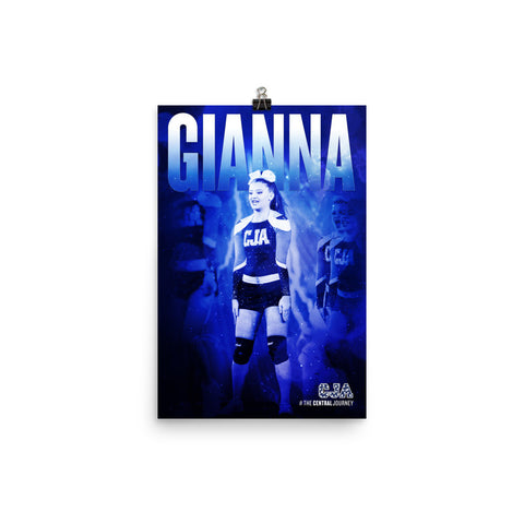 Personalized Poster - Gianna L