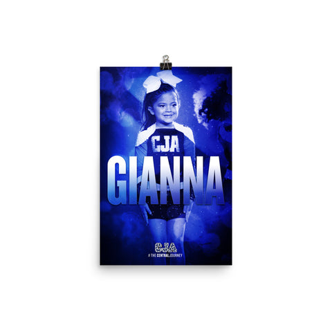 Personalized Poster — Gianna G.