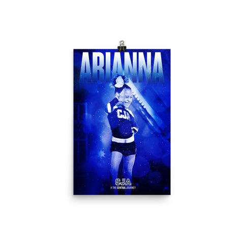 Personalized Poster - Arianna S