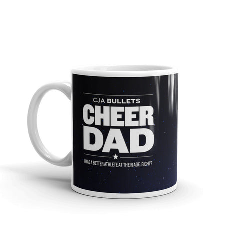 2017 Bullets Mug - Cheer Dad