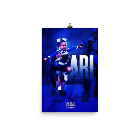 PERSONALIZED POSTER - ARI Color Poster