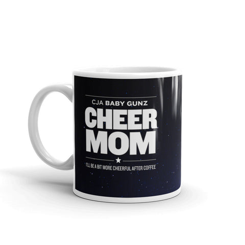 2017 Baby Gunz Mug - Cheer Mom