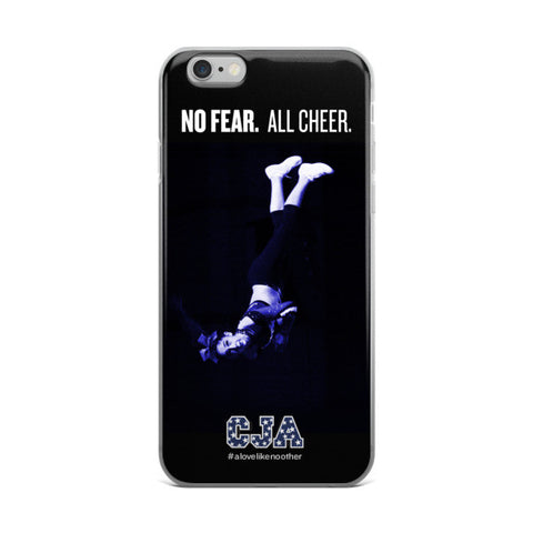 """No Fear. All Cheer."" iPhone 6 / 6 Plus Case"