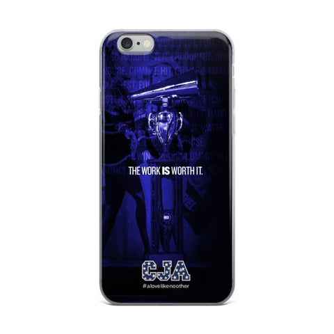 """The Work IS Worth It."" iPhone 6 / 6 Plus Case"