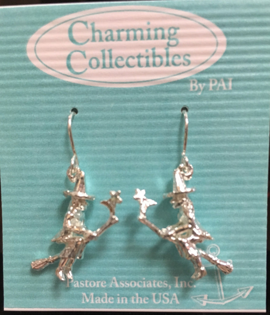 Silver Witch Earrings