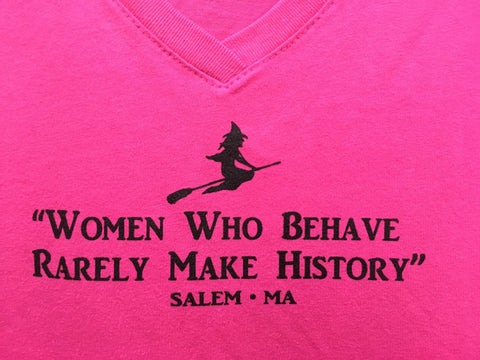 Tee Women Who Behave... (women)
