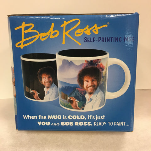 Bob Ross Self-Painting Mug
