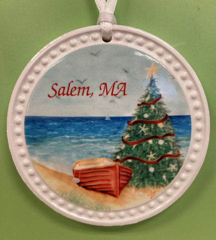 Seaside Holiday ornament