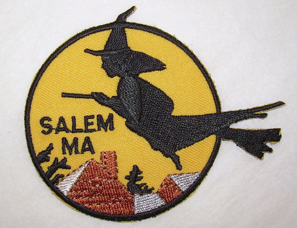 Iron-On Witch Patch