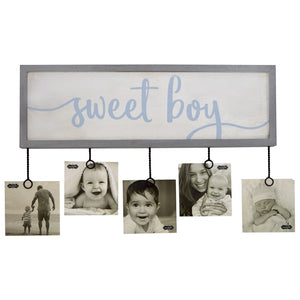 SWEET BOY PHOTO HOLDER
