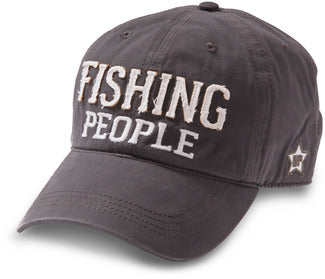 FISHING PEOPLE HAT GRAY