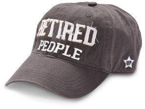 RETIRED PEOPLE HAT GRAY