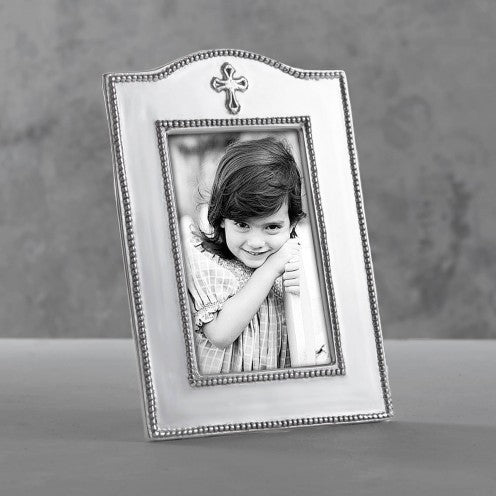 BABY CROSS VERTICAL FRAME 4 X 6