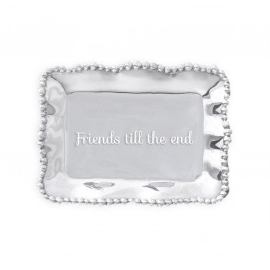 FRIENDS TIL THE END RECTANGLE TRAY