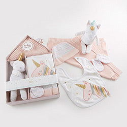 SIMPLY ENCHANTED UNICORN 5 PC WELCOME HOME SET