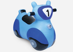 SCOOTER BOUNCY TOY BLUE