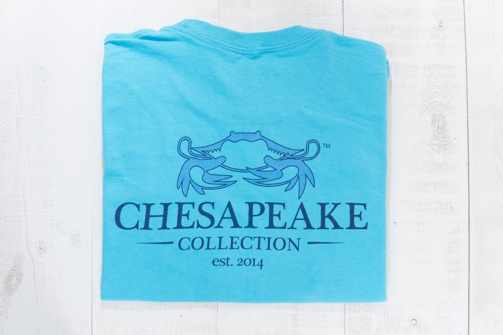 BLUE CLASSIC CRAB LONG SLEEVE
