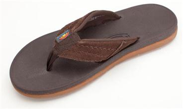 RAINBOW MEN'S EAST CAPE MOLDED RUBBER DARK BROWN