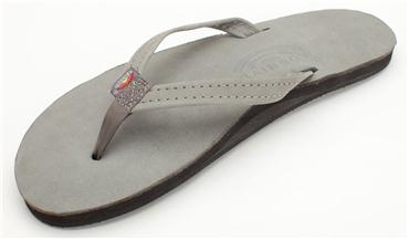 RAINBOW WOMEN'S NARROW STRAP GREY SANDAL