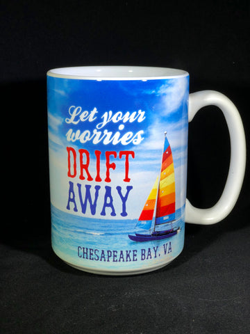 14 OZ BOXED MUG CHESAPEAKE BAY