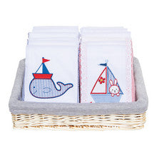 Nautical Burp Cloths