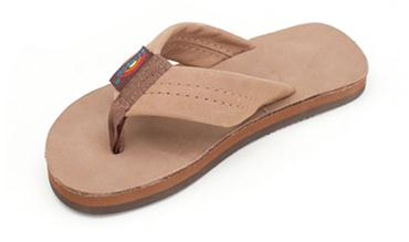 RAINBOW KIDS PREMIER THICK STRAP DARK BROWN SANDAL